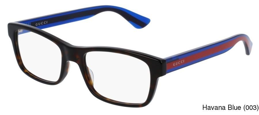 cb221b472b5e Gucci GG0006O Full Frame Prescription Eyeglasses