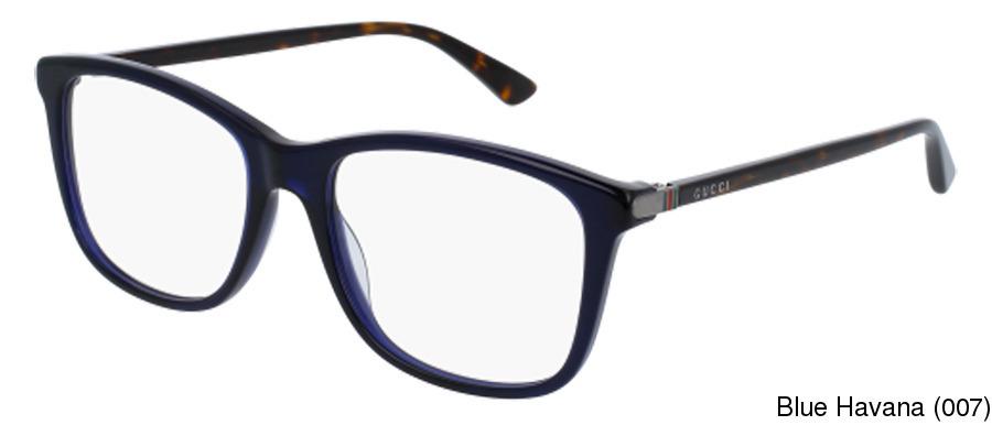6387313129c0 Gucci GG0018O Full Frame Prescription Eyeglasses