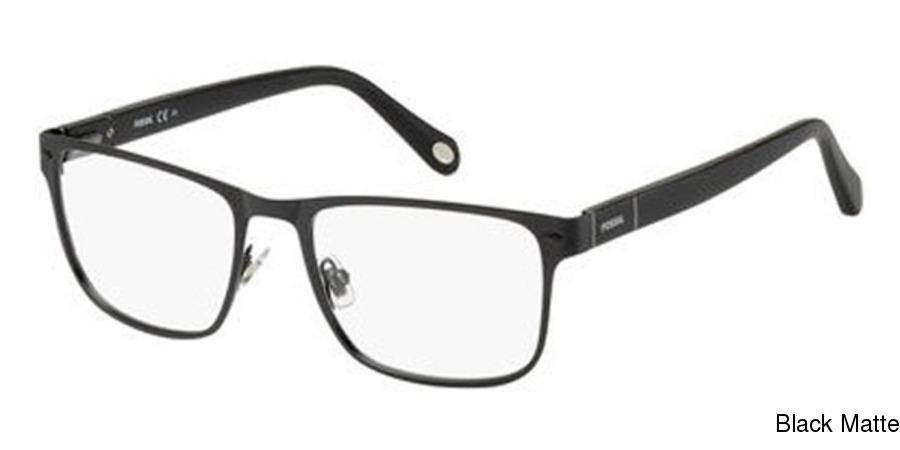 fe05255a19 Fossil 6088 Full Frame Prescription Eyeglasses