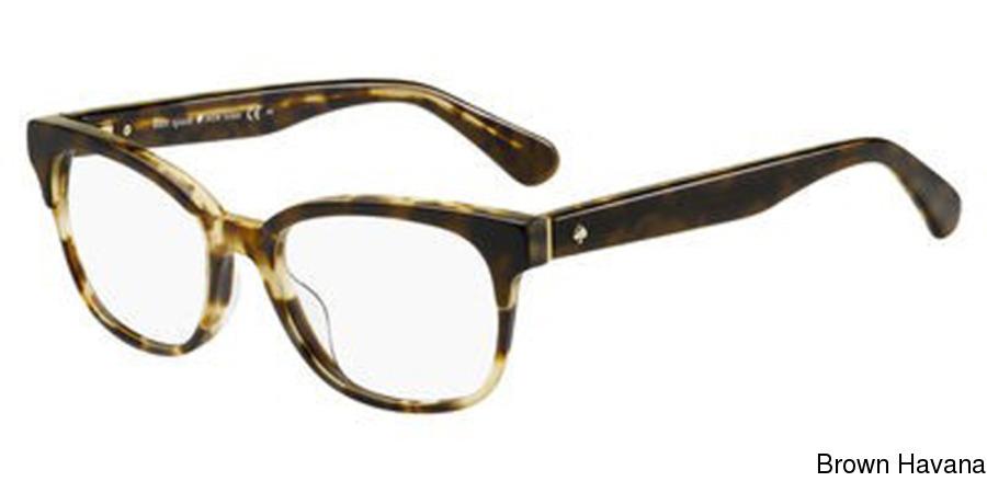 90fef381dc01 Kate Spade Carolanne Full Frame Prescription Eyeglasses