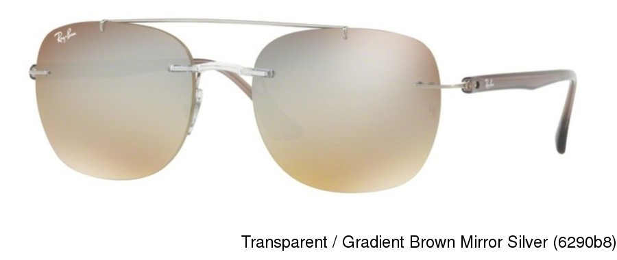 fa54de5839 Ray Ban RB4280. Transparent   Gradient Brown Mirror Blue (6289b7)   Transparent   Gradient Brown Mirror Silver (6290b8)