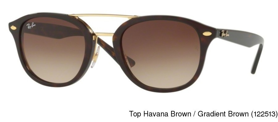 10b303864d Ray Ban RB2183 Gradient. Top Havana Brown   Gradient Brown (122513) ...