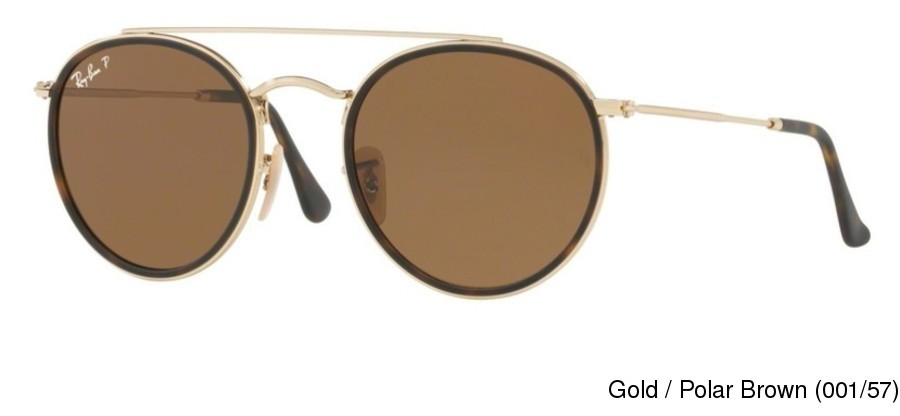 4eb699ff7dca6 Buy Ray Ban RB3647N Polarized Full Frame Prescription Sunglasses