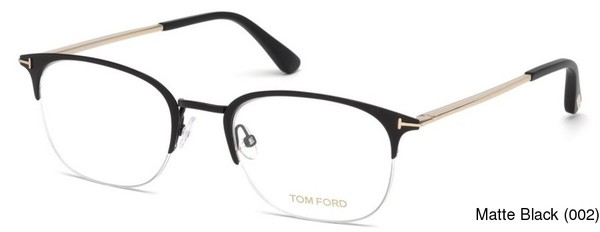 793b04384f6 Tom Ford FT5452 Semi Rimless   Half Frame Prescription Eyeglasses
