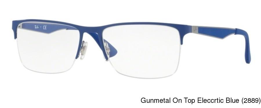 164b632c7f1c1 Buy Ray Ban RX6335 Semi Rimless   Half Frame Prescription Eyeglasses