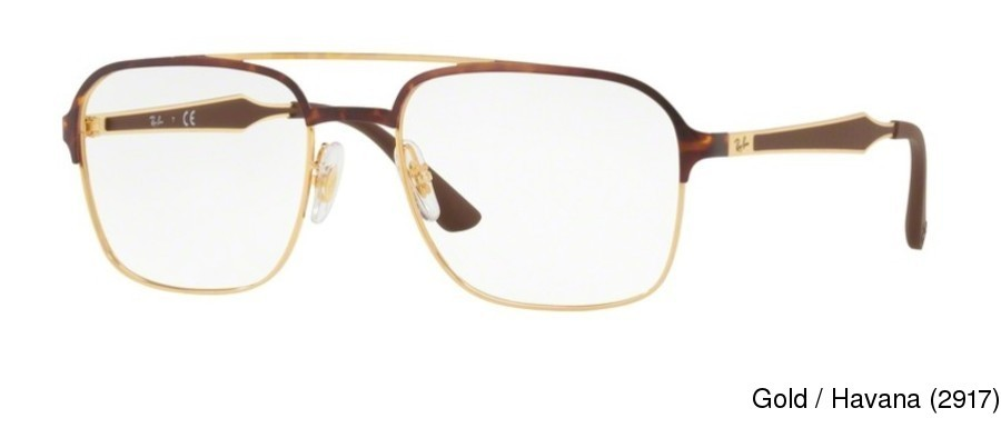 132043478a Ray Ban RX6404 Full Frame Prescription Eyeglasses