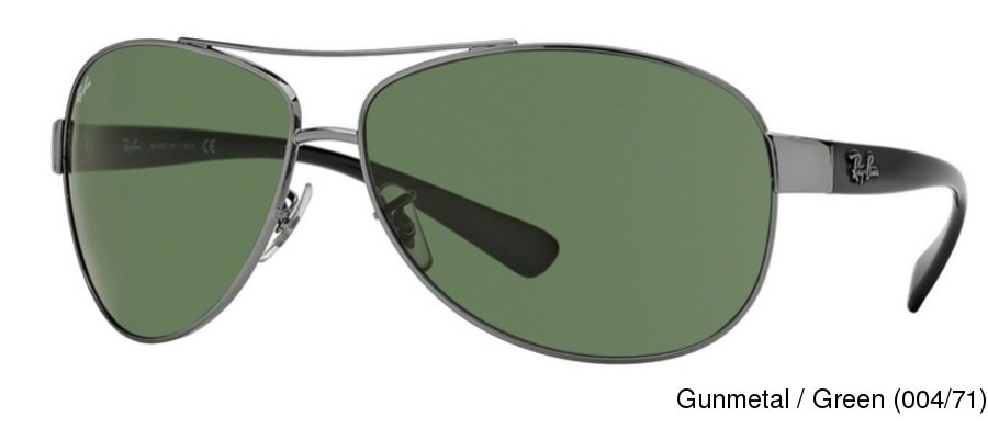 7fbd92ec09 Ray Ban RB3386 Full Frame Prescription Sunglasses