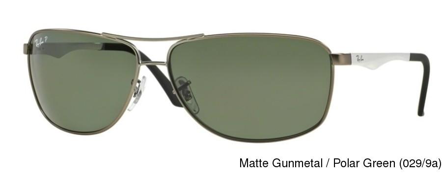 788d9a2a5e Ray Ban RB3506 Polarized. Matte Gunmetal   Polar Green (029 9a) ...