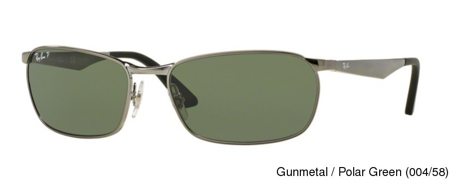 a76005858b726 Ray Ban RB3534 Polarized Full Frame Prescription Sunglasses