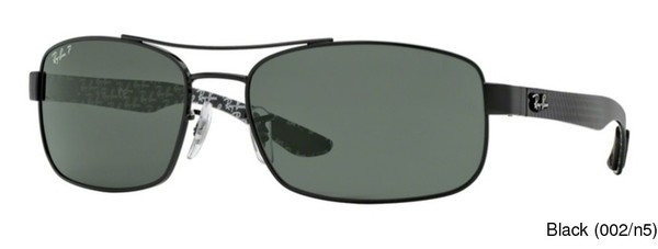 ca31eb871c4bb Ray Ban RB8316 Polarized Full Frame Prescription Sunglasses