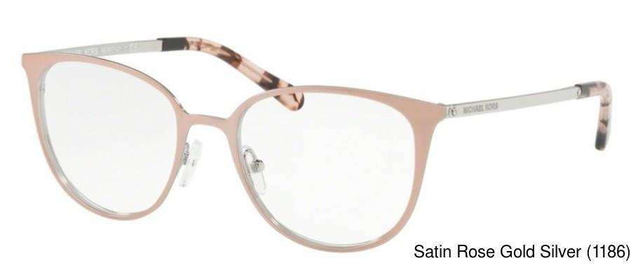 2ce756225c444 Michael Kors MK3017 Full Frame Prescription Eyeglasses