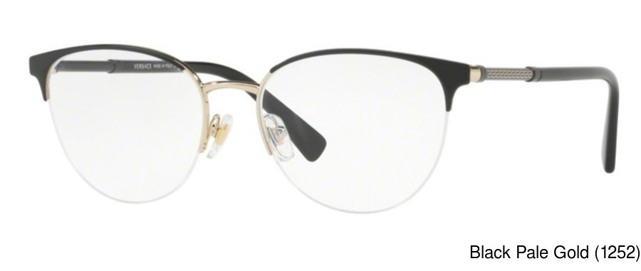 5f119efe6 Versace VE1247. Previous. Lilac Silver (1000) · Black Pale Gold (1252) ...
