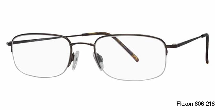 f54987b738 Flexon 606 Semi Rimless   Half Frame Prescription Eyeglasses