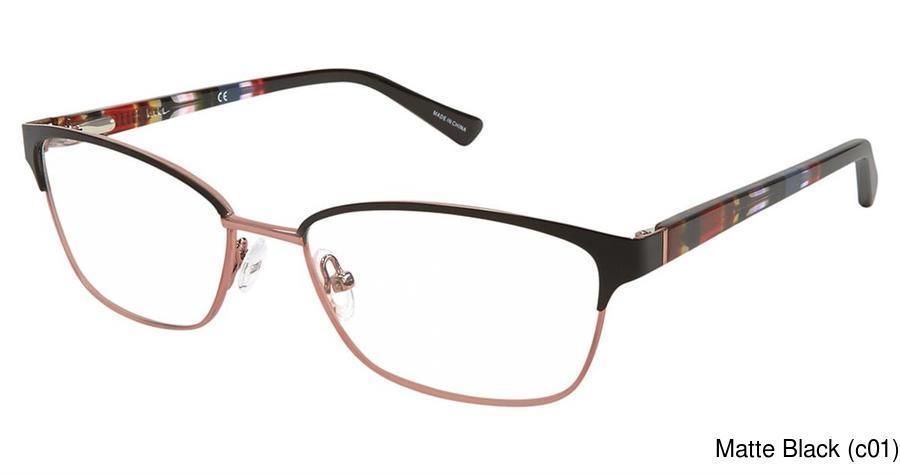 Nicole Miller Evergreen Full Frame Prescription Eyeglasses