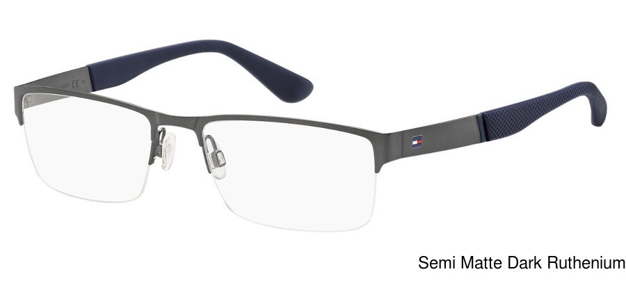 Tommy Hilfiger Th 1524 Semi Rimless Half Frame