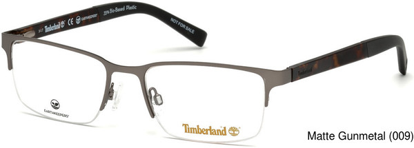 Timberland Tb1585 Semi Rimless Half Frame Prescription