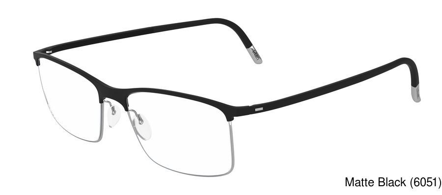 34d4b85a74a7 Silhouette 2904 Urban Fusion Full Frame Prescription Eyeglasses