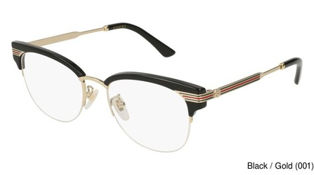 2fc8b62fa73 Gucci GG0201O Full Frame Prescription Eyeglasses