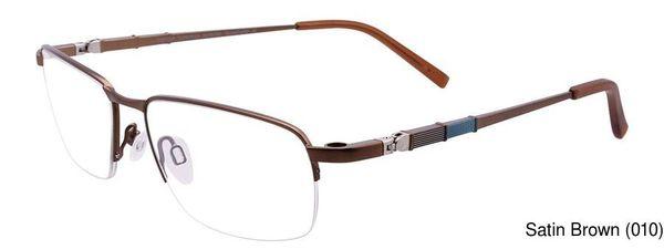 0c171a0fc0 EasyClip EC388 Semi Rimless   Half Frame Prescription Eyeglasses