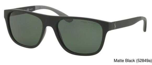 c47a035011 Polo) Ralph Lauren PH4131 Polarized Full Frame Prescription Sunglasses