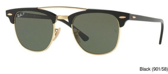 Ray Ban RB3816 Polarized Clubmaster