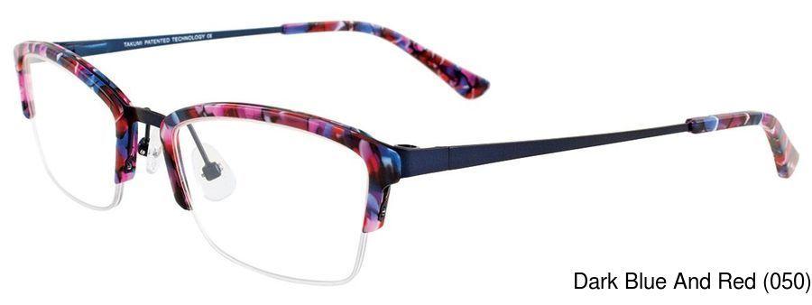 e335c7dab99 Takumi TK1034 Semi Rimless   Half Frame Prescription Eyeglasses
