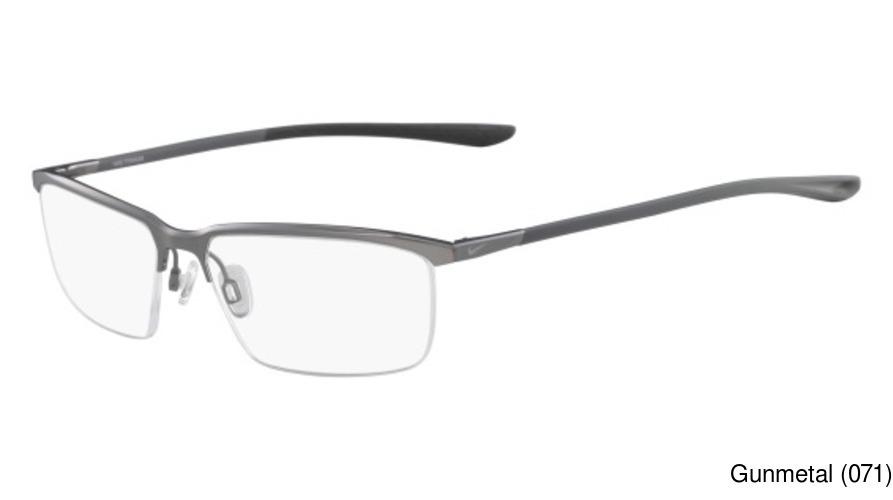 81325a3cf7b Buy Nike 6071 Semi Rimless   Half Frame Prescription Eyeglasses