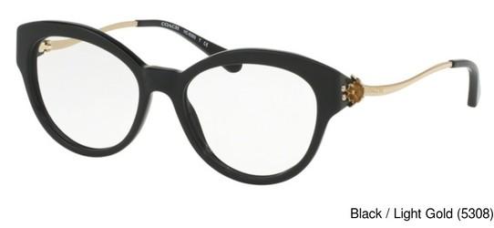 43ddba4365b Coach HC6093 Full Frame Prescription Eyeglasses