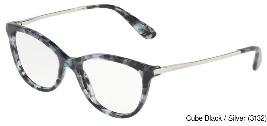 5389fc28be7 Dolce Gabbana DG3258F. Previous. Cube Black   Silver (3132) ...