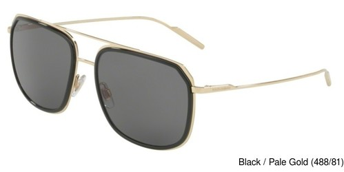 d4269b5a66 Dolce Gabbana DG2165 Polarized Full Frame Prescription Sunglasses