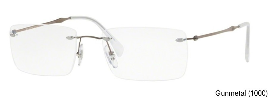 Ray Ban Rx8755 Rimless Frameless Prescription Eyeglasses