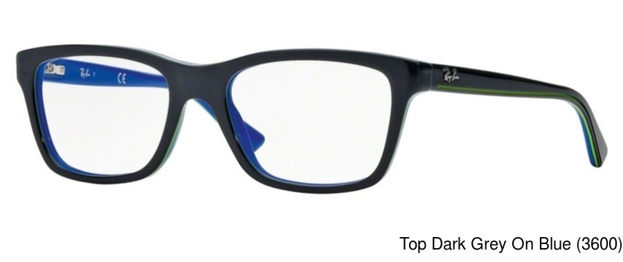 57f78d4bdf Ray Ban Junior RY1536. Previous. Top Black On Transparent (3529)  Top Black  On Red (3573)  Top Dark Grey On Blue (3600) ...