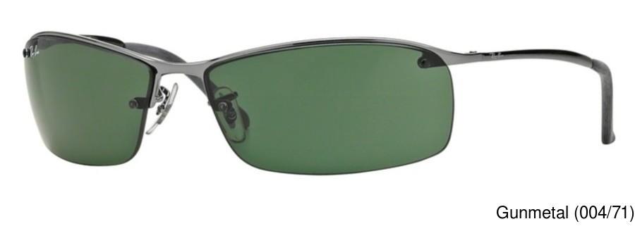 416fd9a50f Ray Ban RB3183 Semi Rimless   Half Frame Prescription Sunglasses