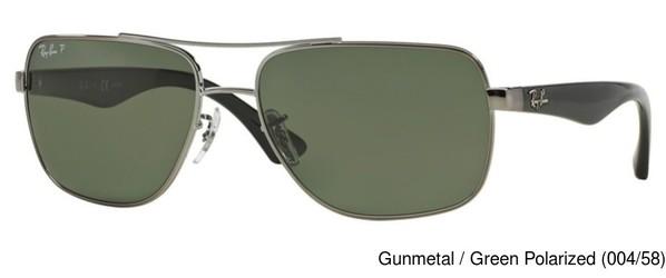 a9d4f898284f0 Ray Ban RB3483 Polarized Full Frame Prescription Sunglasses