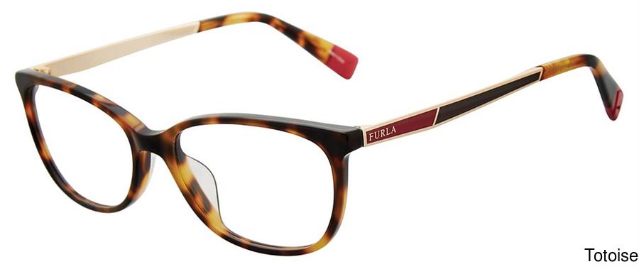 ff7d316b02 Furla VFU089 Full Frame Prescription Eyeglasses