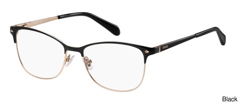 98c9917fda71 Fossil Fos 7034 Full Frame Prescription Eyeglasses