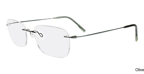 78c412f9031ab Calvin Klein CK536 Rimless   Frameless Prescription Eyeglasses