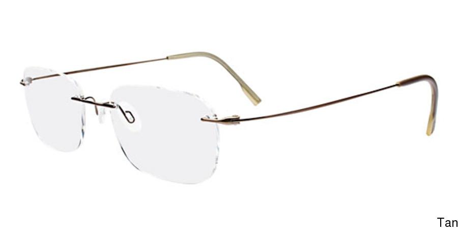 026cd77400 Calvin Klein CK536 Rimless   Frameless Prescription Eyeglasses
