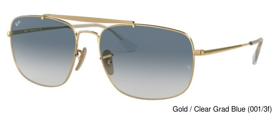c3a078fa17 Ray Ban RB3560 Gradient. Previous. Gold   Clear Grad Blue (001 3f) ...
