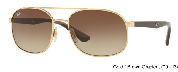 Ray Ban RB3593 Gradient