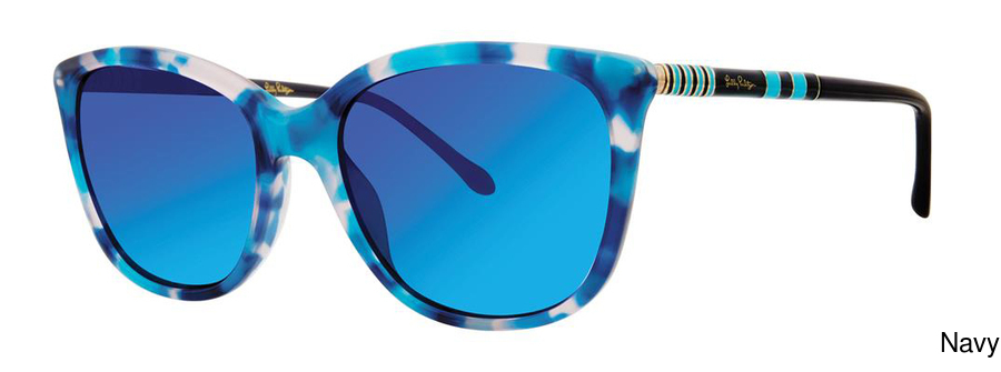 e7ecc505cb Buy Lilly Pulitzer Nita Full Frame Prescription Sunglasses