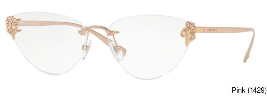 c911662752 Versace VE1254B Rimless   Frameless Prescription Eyeglasses