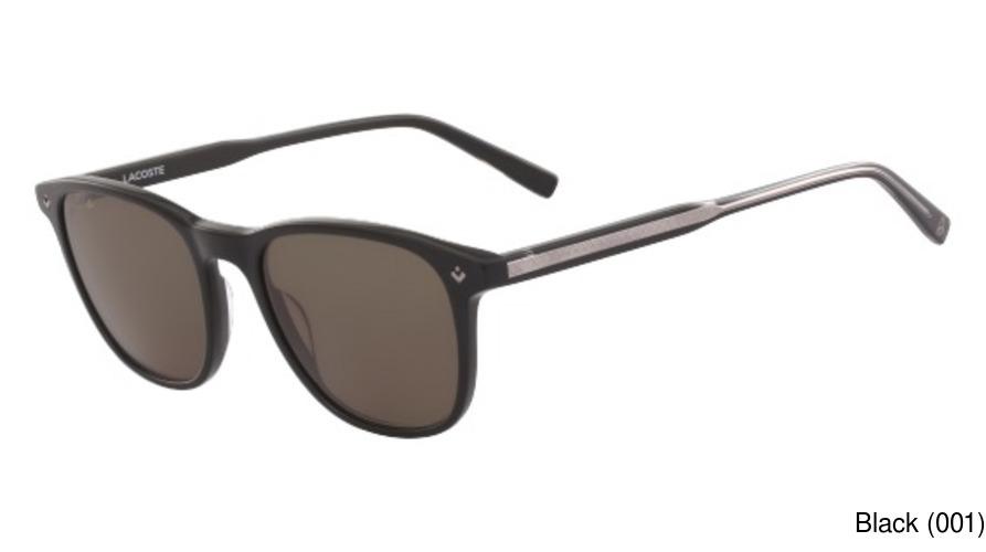 Lacoste Womens L859s Oval L.12.12 Sunglasses, BLUE, 56 mm