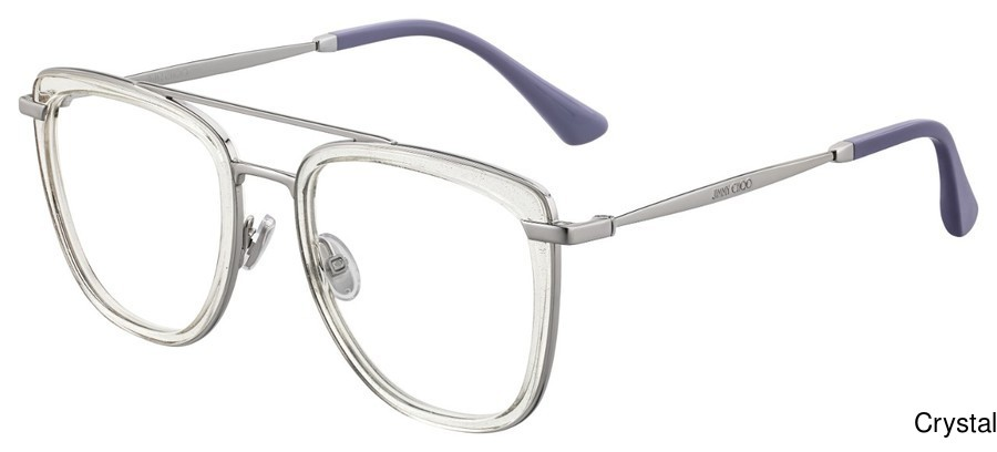 Jimmy Choo Jc 219 Full Frame Prescription Eyeglasses