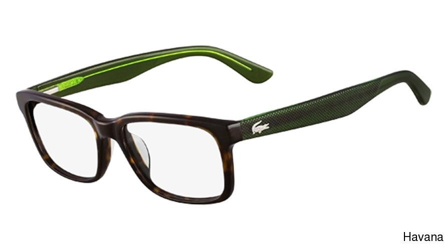 efe29d00e56 Black · Grey · Havana · Khaki · Blue. Next. Lacoste Eyewear L2672