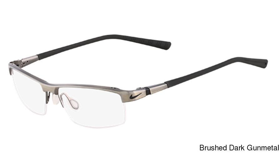 7e8eef8c9aef Buy Nike 6050 Semi Rimless / Half Frame Prescription Eyeglasses