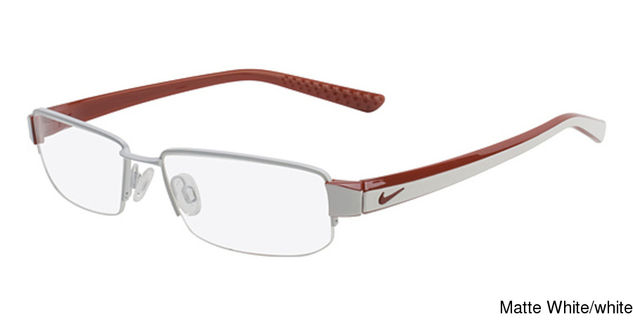 8efc36a0544 Nike 8064 Semi Rimless   Half Frame Prescription Eyeglasses