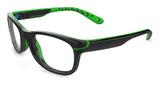 Shiny Black Green