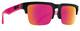Soft Matte Black Translucent Pink
