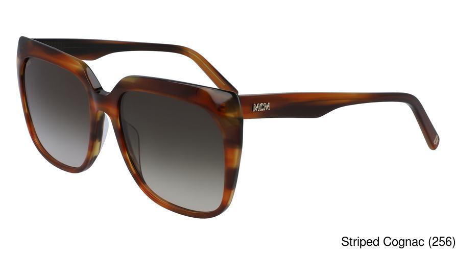 MCM Mens Eyeglasses MCM2103 2103 413 Blue Cognac Full Rim